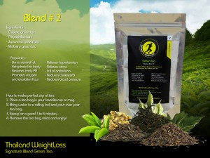 Thailand Weightloss Green Tea Blend 2