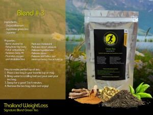 Thailand Weightloss Green Tea Blend 3